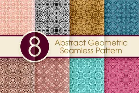 Print on Demand: Abstract Seamless Pattern Collection 003 Graphic Patterns By ARToni