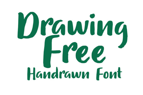 Download Free Drawing Free Font By Gasemraya Creative Fabrica for Cricut Explore, Silhouette and other cutting machines.