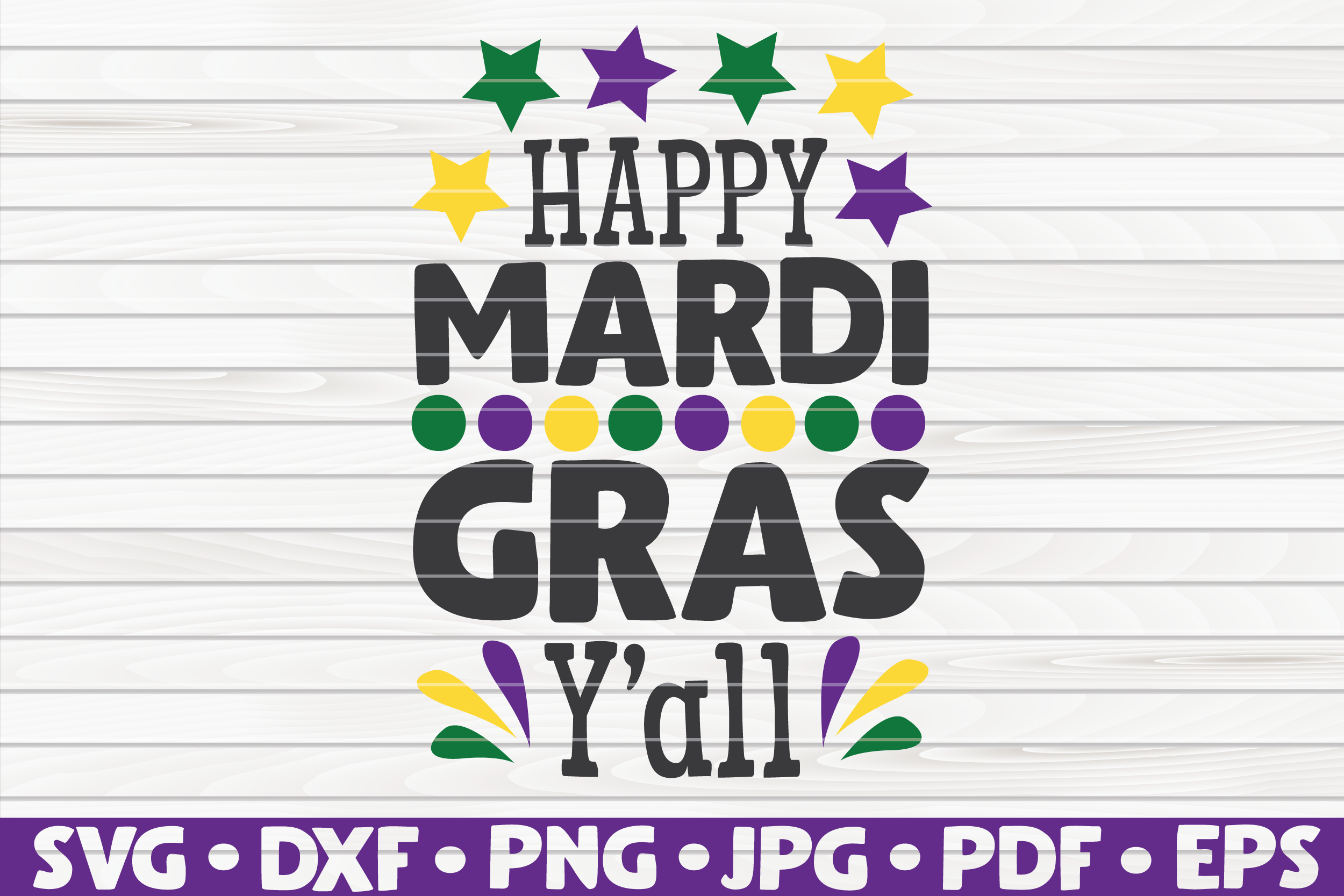 Download Free Happy Mardi Gras Y All Graphic By Mihaibadea95 Creative Fabrica for Cricut Explore, Silhouette and other cutting machines.