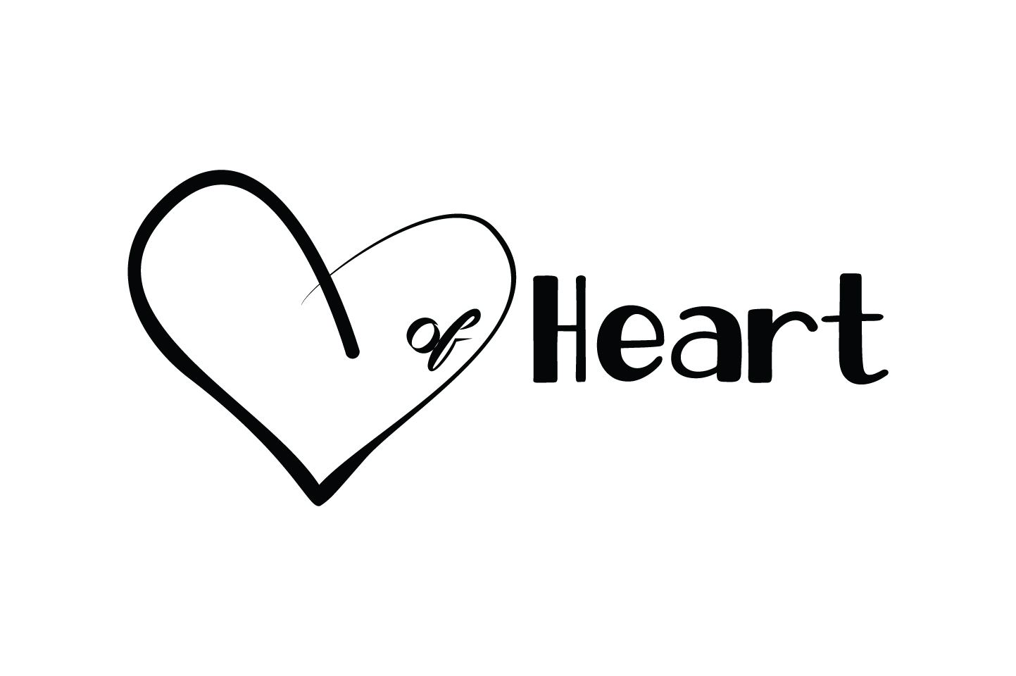 Heart Of Heart Quote Svg Cut Graphic By Yuhana Purwanti