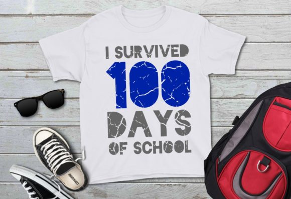 I Survived 100 Days of School Graphic