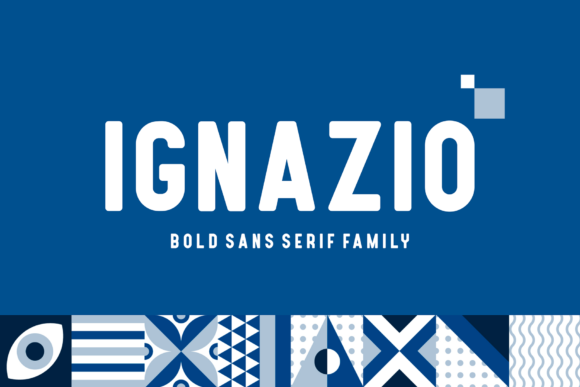 Print on Demand: Ignazio Sans Serif Font By figuree studio - Image 1