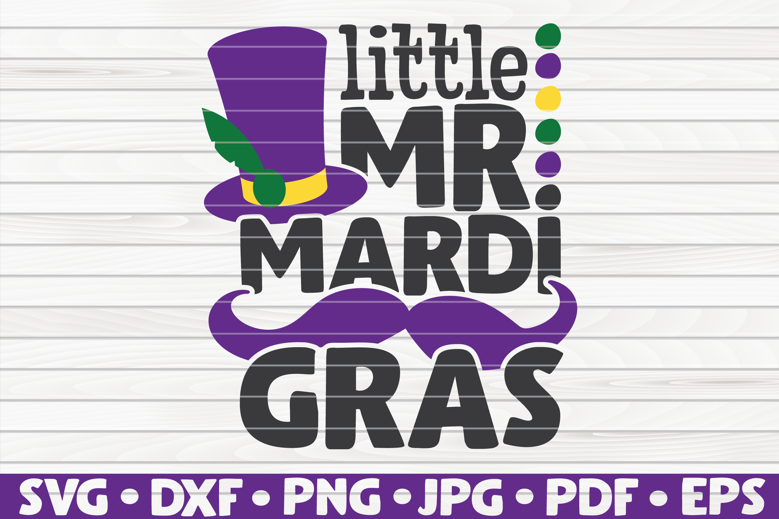 Download Free Little Mister Mardi Gras Graphic By Mihaibadea95 Creative Fabrica for Cricut Explore, Silhouette and other cutting machines.
