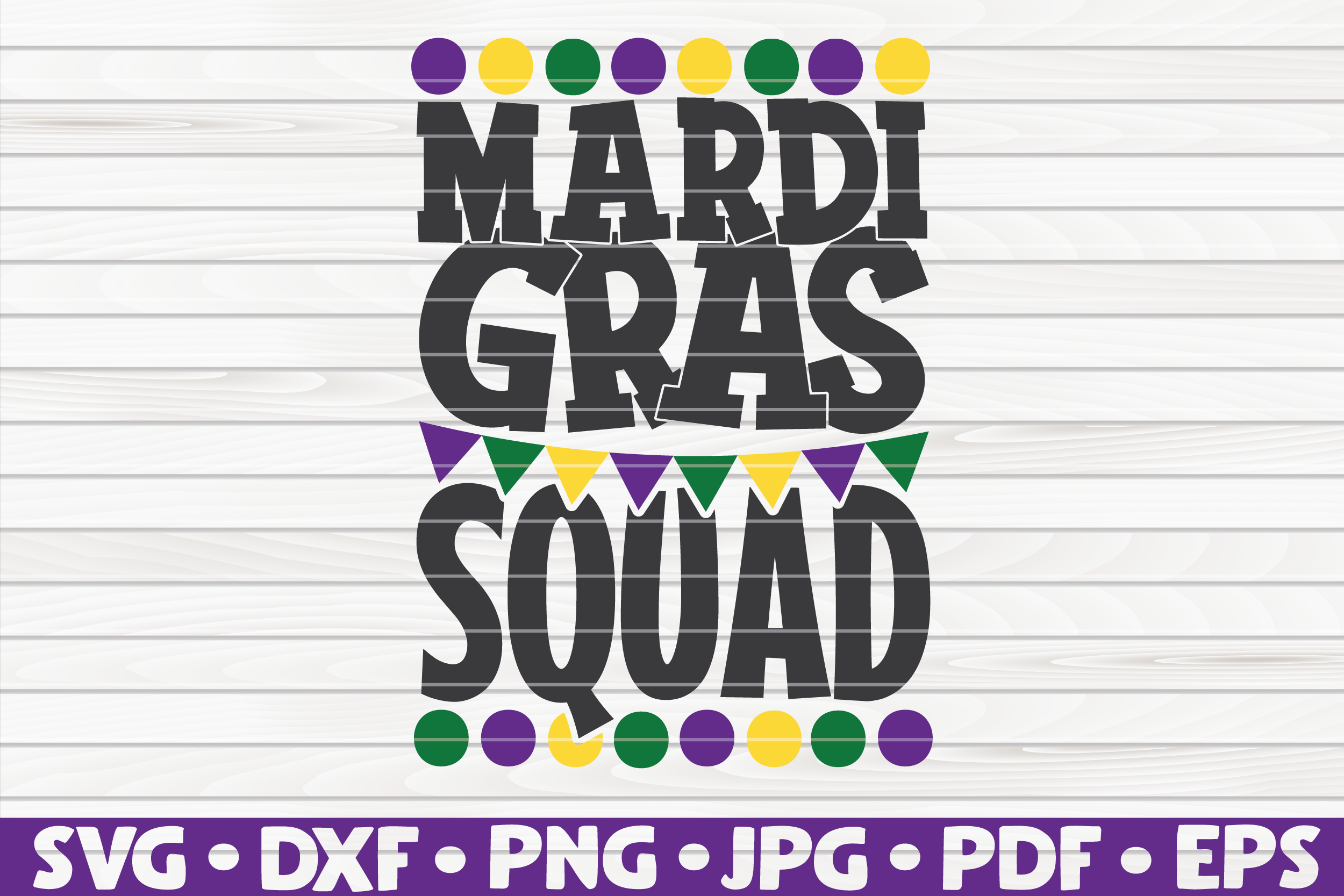 Download Free Mardi Gras Squad Graphic By Mihaibadea95 Creative Fabrica for Cricut Explore, Silhouette and other cutting machines.