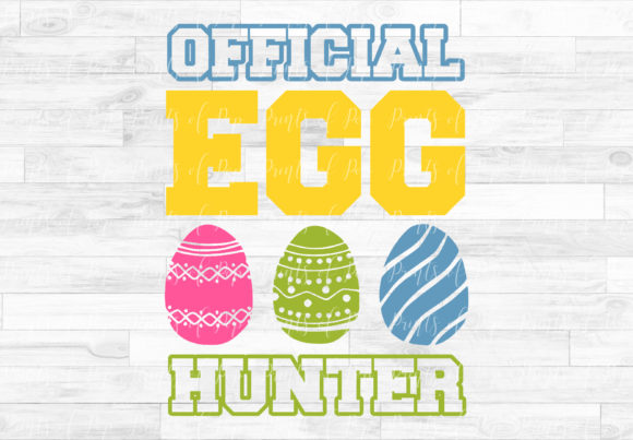 Print on Demand: Official Egg Hunter Easter Graphic Crafts By PrintsOfPop