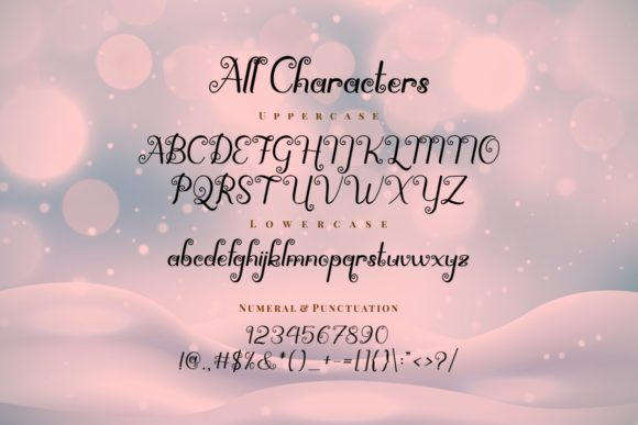 Print on Demand: Spirly Decorative Font By putracetol - Image 9
