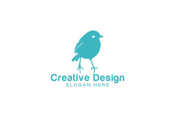Robin Bird Love Bird Logo Ideas Inspir Graphic By