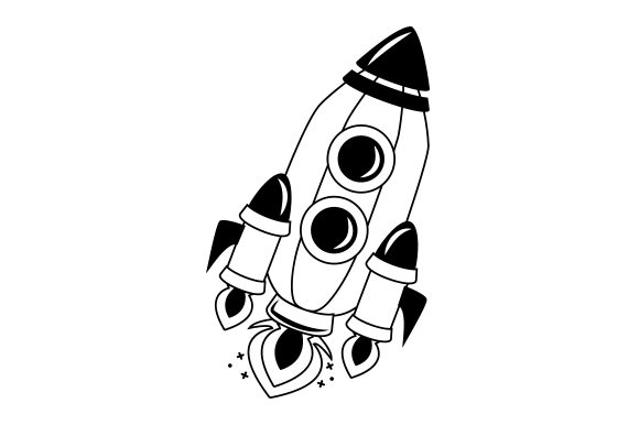 Rocket Kids Craft Cut File By Creative Fabrica Crafts - Image 2