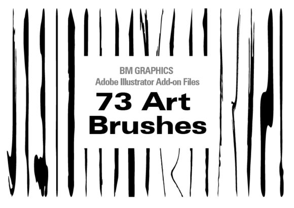 Download Free 73 Adobe Illustrator Art Brushes Graphic By Graphicsbam Fonts for Cricut Explore, Silhouette and other cutting machines.
