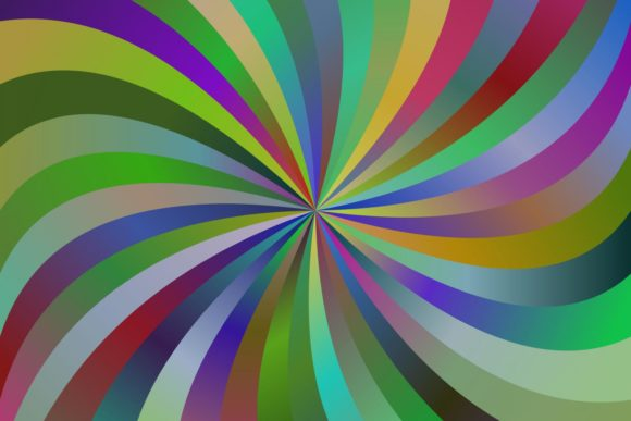 Download Free Abstract Gradient Spiral Background Graphic By Davidzydd for Cricut Explore, Silhouette and other cutting machines.