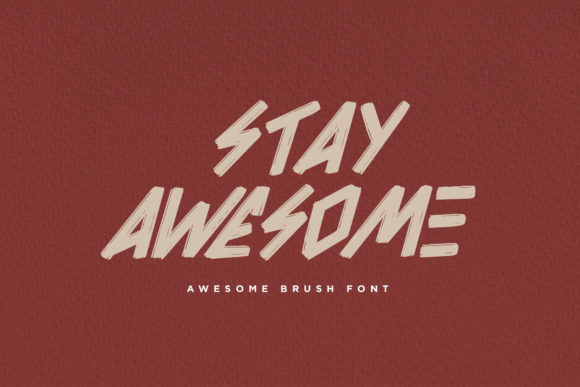 Print on Demand: Awesome Display Font By Sigit Dwipa