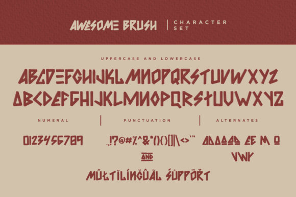 Awesome Font Preview