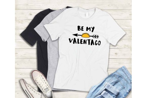 Print on Demand: Be My Valentaco Graphic Crafts By Mockup Station