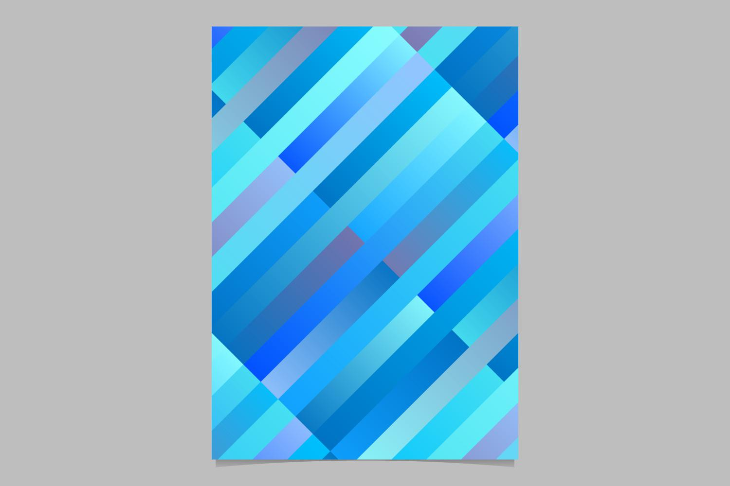 Download Free Blue Gradient Rectangle Page Background Graphic By Davidzydd for Cricut Explore, Silhouette and other cutting machines.