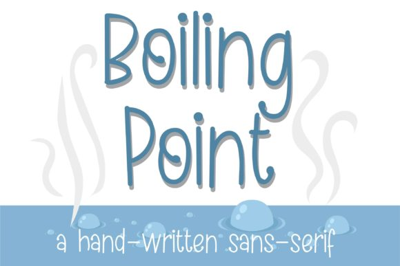 Print on Demand: Boiling Duo Script & Handwritten Font By Illustration Ink - Image 10