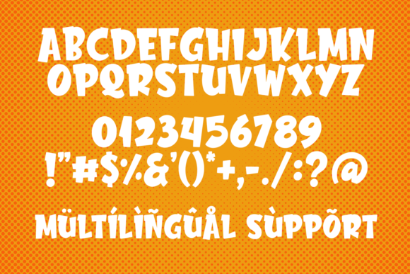 Print on Demand: Chester Network Display Font By Abodaniel - Image 7