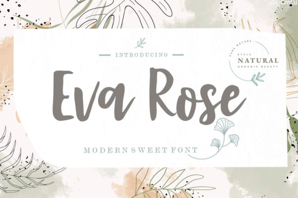 Print on Demand: Eva Rose Script & Handwritten Font By Youngtype - Image 1