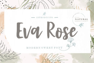 Print on Demand: Eva Rose Script & Handwritten Font By Youngtype
