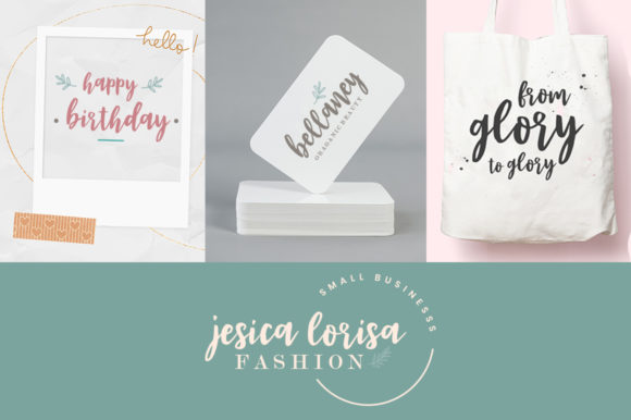 Print on Demand: Eva Rose Script & Handwritten Font By Youngtype - Image 3