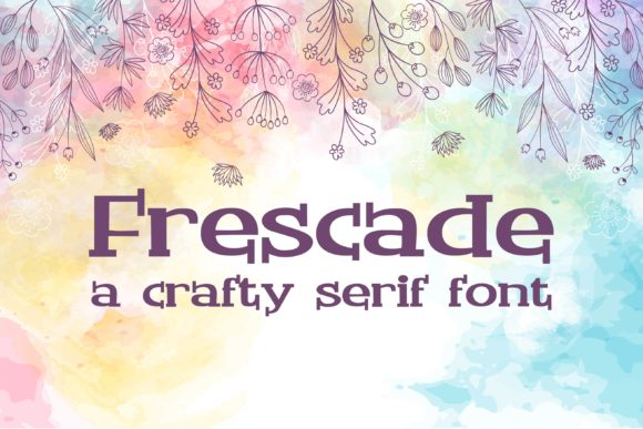 Print on Demand: Frescade Serif Font By Illustration Ink