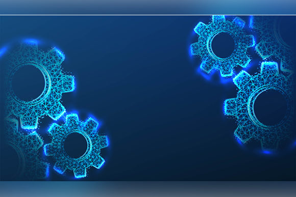 Print on Demand: Gear, Cog Wheel. Transmission Concept. M Graphic Backgrounds By ojosujono96