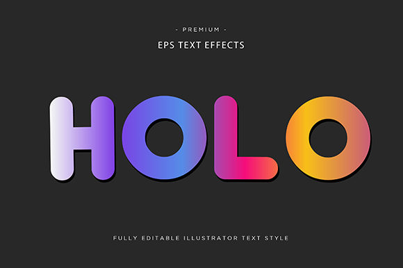 Print on Demand: Hole 3d Text Effect Vector Graphic Graphic Templates By Riduwan Molla