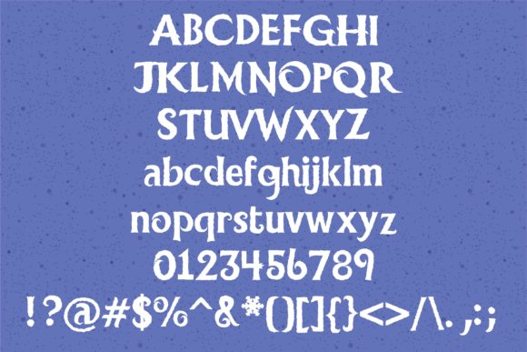Print on Demand: Ice Princess Duo Display Font By Illustration Ink - Image 2