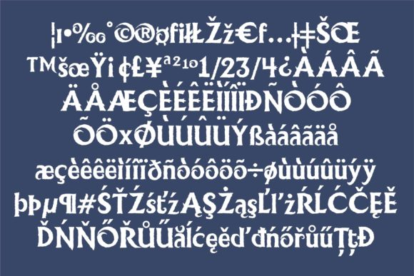 Print on Demand: Ice Princess Duo Display Font By Illustration Ink - Image 3