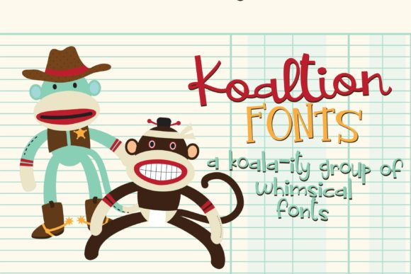 Print on Demand: Koalition Family Script & Handwritten Font By Illustration Ink