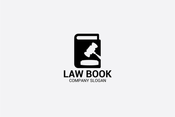 Download Free Law Book Logo Graphic By Shazdesigner Creative Fabrica for Cricut Explore, Silhouette and other cutting machines.