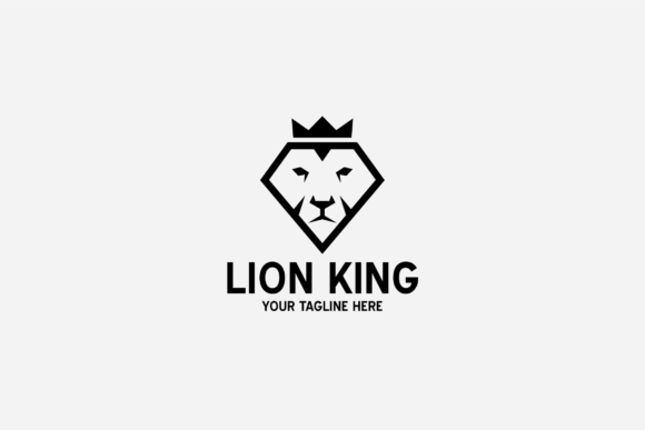 Download Free Lion King Logo Graphic By Shazdesigner Creative Fabrica SVG Cut Files