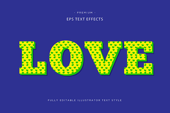 Print on Demand: Love 3d Text Effect Graphic Graphic Templates By Riduwan Molla