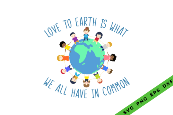 Love the Earth Graphic Crafts By Graphipedia - Image 4