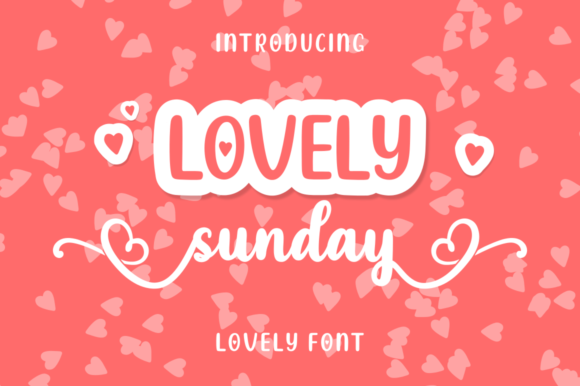 Print on Demand: Lovely Sunday Script & Handwritten Font By kammaqsum