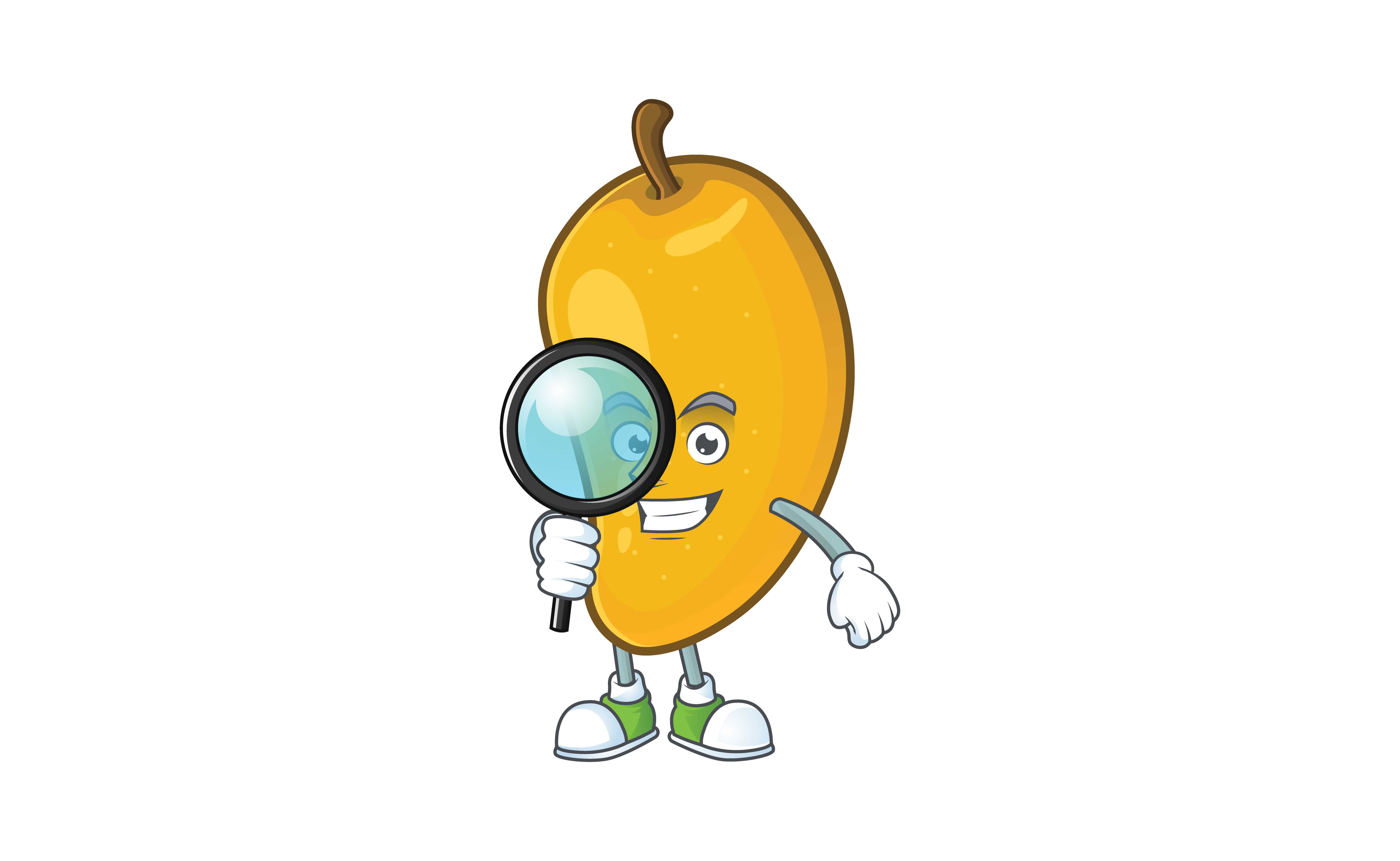 Download Free Mango Cartoon Character Style Graphic By Kongvector2020 Creative Fabrica SVG Cut Files