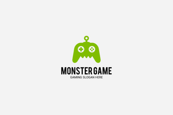 Download Free Monster Game Logo Graphic By Shazdesigner Creative Fabrica for Cricut Explore, Silhouette and other cutting machines.