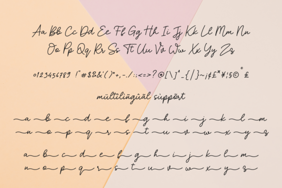 Print on Demand: My Status Script & Handwritten Font By Abodaniel - Image 5
