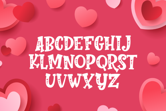 Print on Demand: Perfect Love Display Font By figuree studio - Image 4