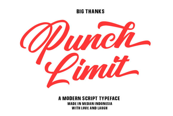 Print on Demand: Punch Limit Duo Script & Handwritten Font By Semar - Image 14