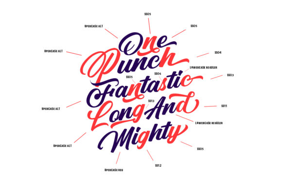 Print on Demand: Punch Limit Duo Script & Handwritten Font By Semar - Image 4