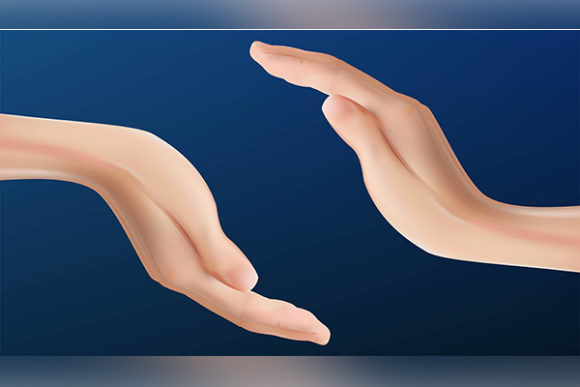 Print on Demand: Realistic Hand Protection. Hand Care. Ve Graphic Backgrounds By ojosujono96