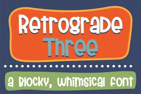 Print on Demand: Retrograde Script & Handwritten Font By Illustration Ink - Image 1