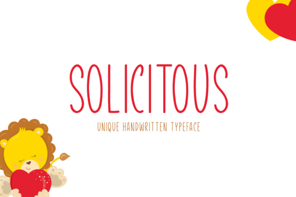 Print on Demand: Solicitous Display Font By Instagram Fonts
