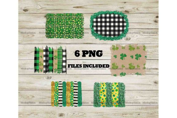 Print on Demand: St Patrick's Background Gráfico Fondos Por Mockup Station