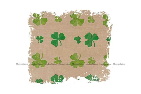 Print on Demand: St Patrick's Background Graphic Backgrounds By Mockup Station - Image 2