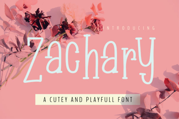 Print on Demand: Zachary Serif Font By bitongphoto