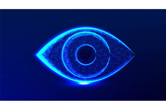 Print on Demand: Eye, Vision, Health, Optical, Watch. Abs Graphic Backgrounds By ojosujono96