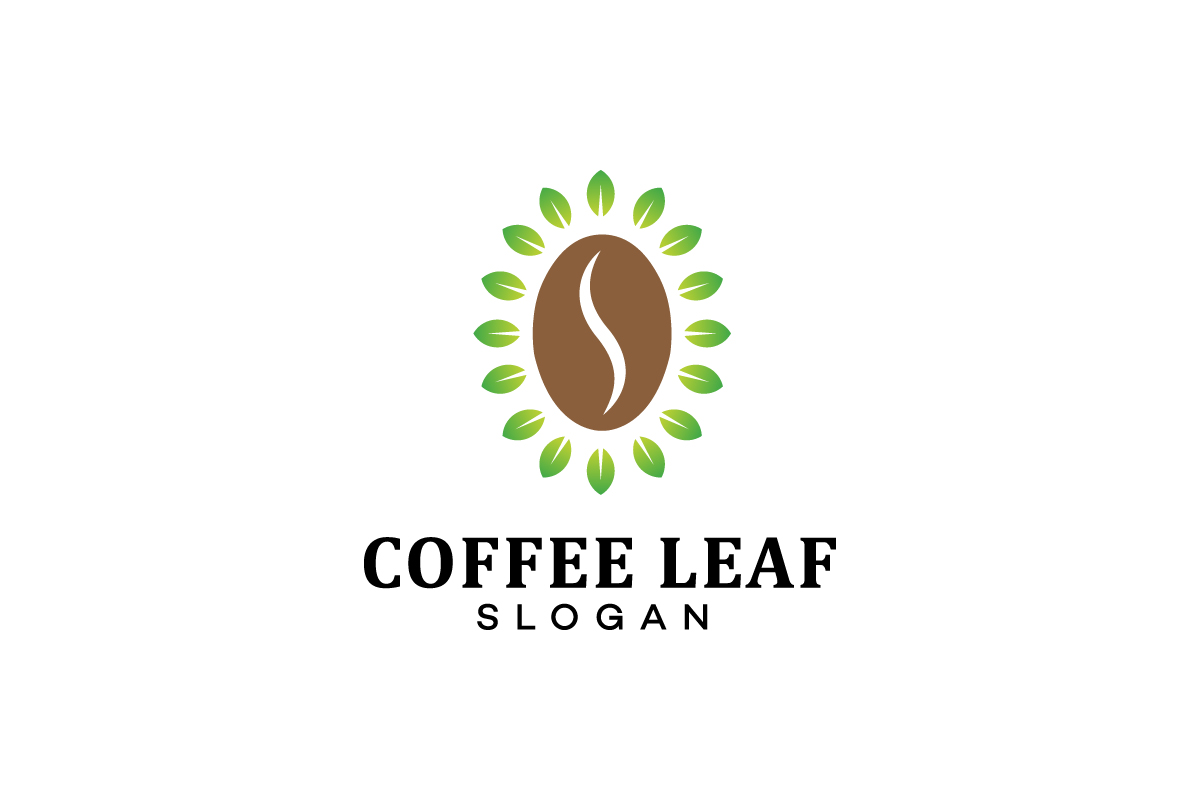 Download Free Nature Coffee Logo Design Template Graphic By Syaefulans for Cricut Explore, Silhouette and other cutting machines.