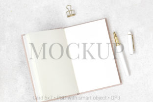 Download Free Flat Lay Mockup Notes On Granite Grafik Von Pawmockup Creative for Cricut Explore, Silhouette and other cutting machines.