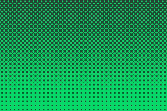 Download Free Green Halftone Pattern Graphic By Davidzydd Creative Fabrica for Cricut Explore, Silhouette and other cutting machines.